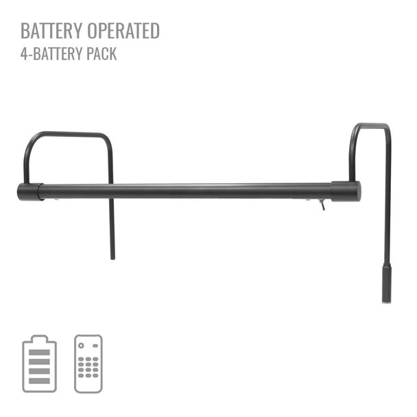 "Cocoweb 16"" Tru-Slim Battery Picture Light in Black"