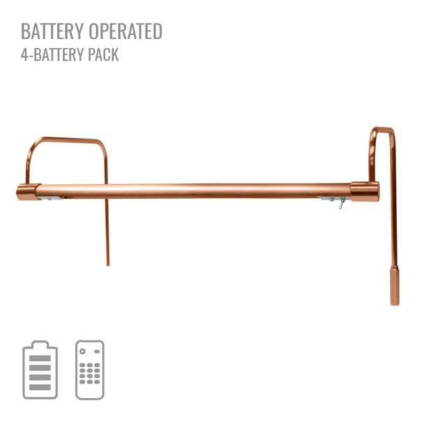 "Cocoweb 16"" Tru-Slim Battery Picture Light in Copper"