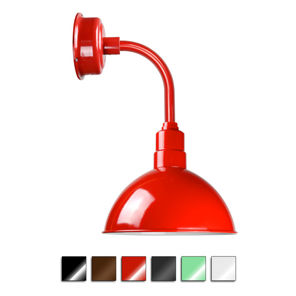 Blackspot Farmhouse Sconce Light with Trim Arm