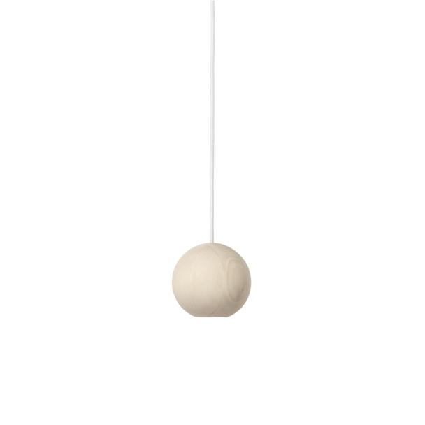 Liuku Base, Ball - Matt lacquered FSC certified Linden Wood