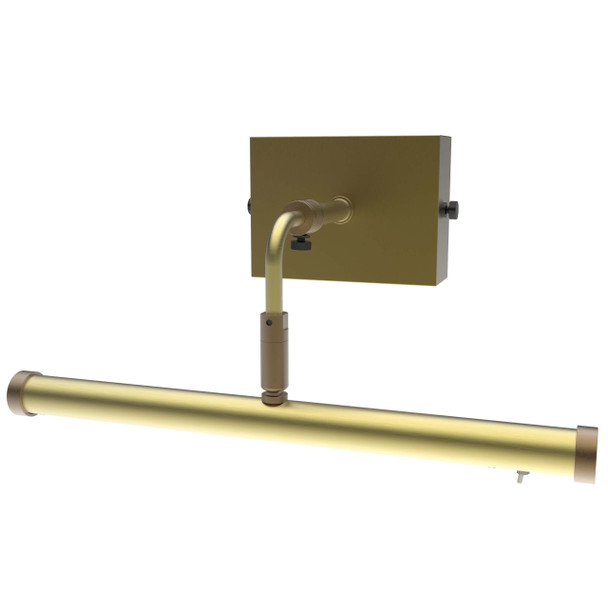 "12"" Tru-Slim Wall Mounted Picture Light in Antique Brass"