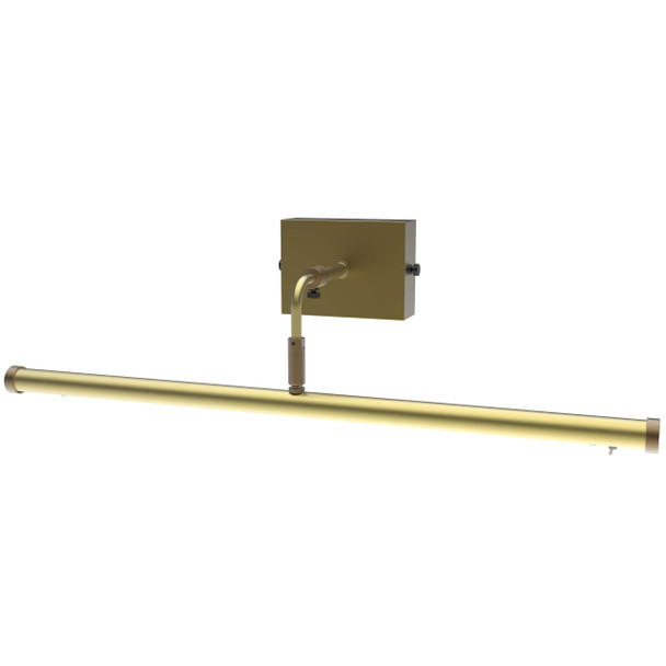"21"" Tru-Slim Wall Mounted Picture Light in Antique Brass"
