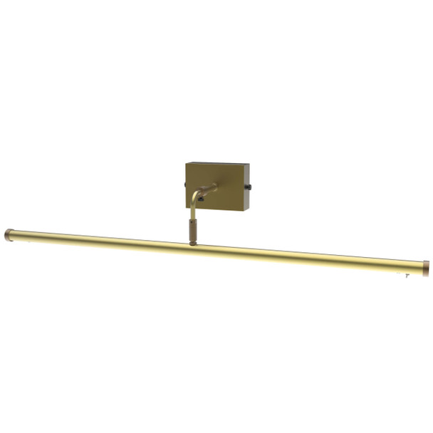 """30"""" Tru-Slim Wall Mounted Picture Light in Antique Brass"""