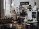 "Lifestyle View of 10"" Blackspot LED Pendant Light in White"
