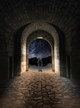 Matte Black Oldage Wall Barn Light Motion Sensor Lifestyle 3
