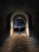 Matte Black Oldage Wall Barn Light Mtion Sensor Lifestyle 3