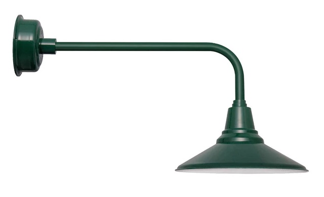 cocoweb barn light calla traditional arm