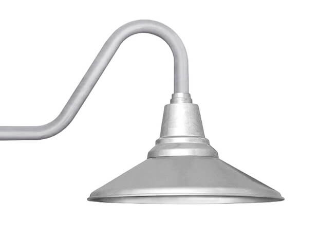 cocoweb barn light calla contemporary arm