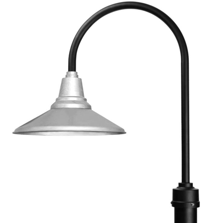cocoweb barn post light calla