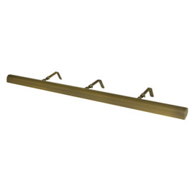 """LED 36"""" Classic Picture Light - Antique Brass"""