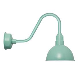 """10"""" Rustic Jade BlackSpot LED Barn Light"""