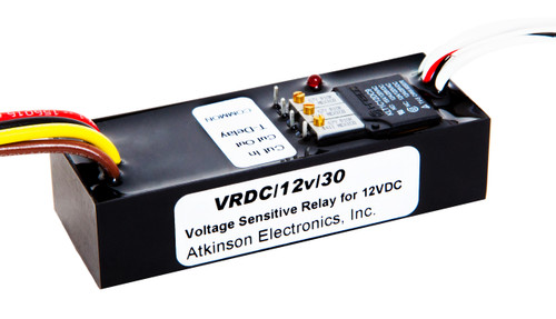 VRDC 12V-30:  Voltage Sensitive Relay for DC