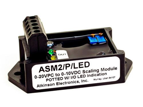 ASM2/PC/LED/P:  Analog Scaling Module - Potted with LED Indicator