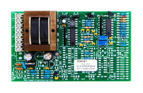 DISM-E/1:  Dual Isolated Signal Module/ Single Channel