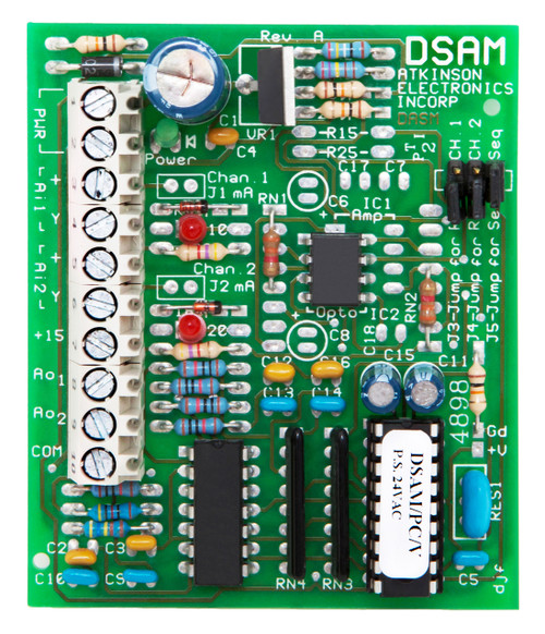 DSAM/PC/VDC  Dual Channel Sequencing to Analog Module Phase Cut to Voltage