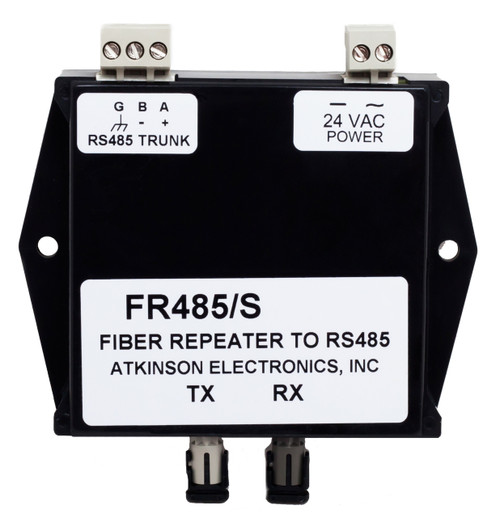 FR485/S:  RS to a Single Fiber Optic Repeater