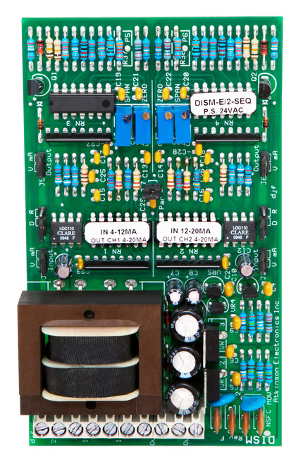 DISM-E/2 Custom Set Up:  Dual Isolated Signal Module