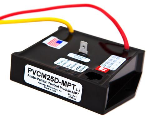 SunExplorer PVCM25D-MPTLi:  25Amp Solar Charge Module using  Multi Point Tracking & PWM