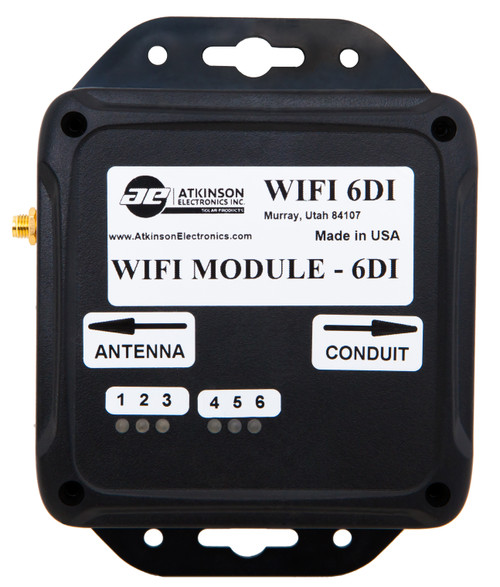 WiFi-6di Module: 6 Digital Input Monitoring Device