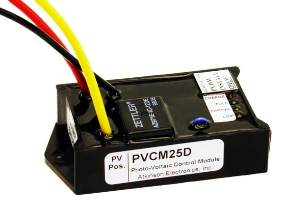 PVCM25D:  Solar Charge Controller 25 Amp with a Display Jack