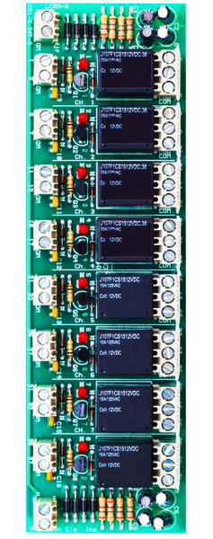 LCRM 8-ST  8 Channel Low Current Relay Module Screw Terminal