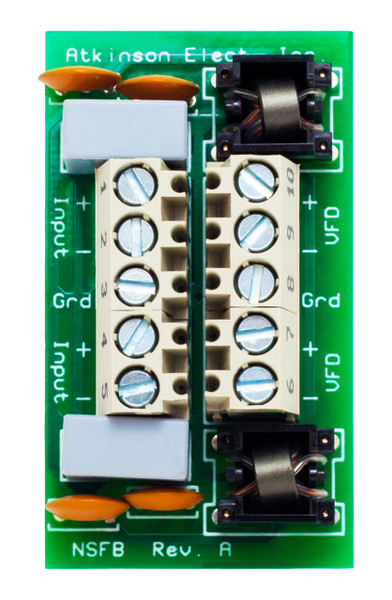 NSFB  Dual Channel Noise Suppression Filter Board