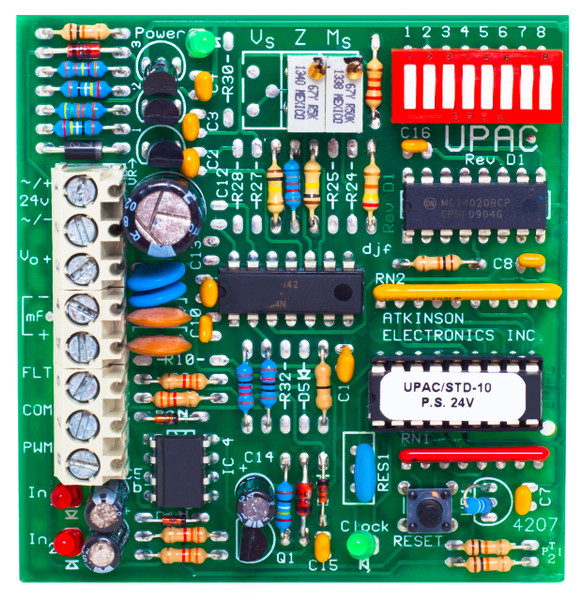 UPAC-STD  Universal Pulse to Analog Converter Standard