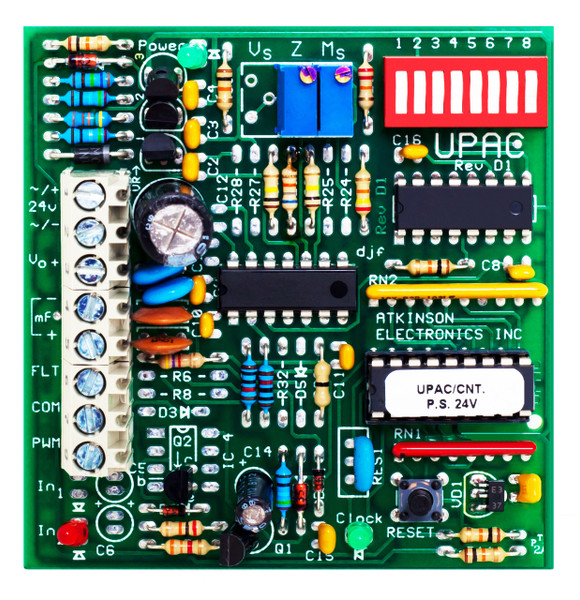 UPAC CNT  Universal Pulse to Analog Converter Counter