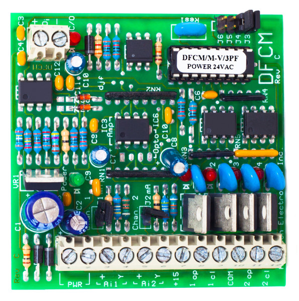 DFCM/MA-VDC:  Dual Channel Floating Controller Module Milliamp or Voltage