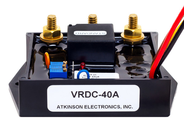 VRDC40A LVD:  Voltage Sensitive Relay for DC Low Voltage Disconnect
