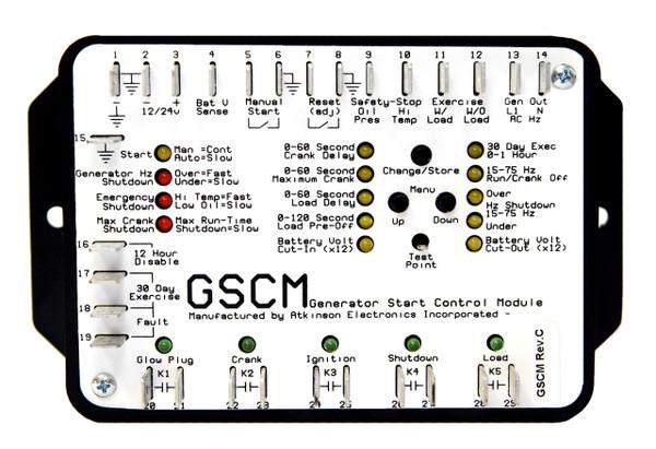 GSCM:  Generator Start Control Module (Rev. C5.X Custom Firmware)