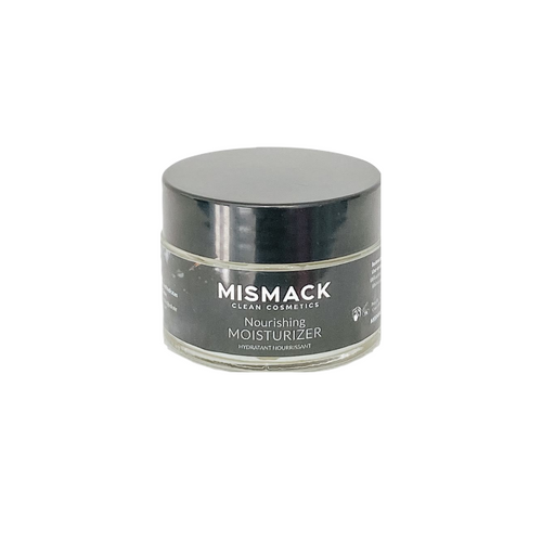 Our plant-based Skin Moisturizer moisturizes and hydrates replenishing your skin for a Healthy Glow.   Topical Use only.  Apply to dry skin after cleansing. Use over top of Nourishing Skin Oil or on its own, day and night.   Ingredients:  Aqua, Ewax NF, Helianthus Annuus (Sunflower) Seed Oil, Rosa Canina (Rose Hip) Seed Oil, Oenothera Biennis (Evening Primrose) Oil, Stearic Acid, Fruit Acid Complex (Water (and) Vaccinium Myrtillus (Bilberry) Fruit Extract (and) Saccharum Officinarum (Sugar Cane) Extract (and) Acer Saccharum (Sugar Maple) Extract (and) Citrus Aurantium Dulcis (Orange) Fruit Extract (and) Citrus Limon (Lemon) Fruit Extract), Diheptyl) Succinate (and) Caprylol, Glycerin/Sebacic Acid Copolymer, DL-Panthenol, Mangifera Indica (Mango) Seed Butter, Glycerin, Proprietary MisMack Essential Oil Blend, Geogard ECT(Benzyl Alcohol (and) Salicylic Acid (and) Glycerin (and) Sorbic Acid), Hippophae Rhamnoides (Sea Buckthorn) Fruit Oil
