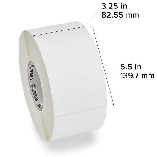 """Zebra 3.25"""" x 5.5"""" Z-Select 4000T Label (Case) - 72286"""
