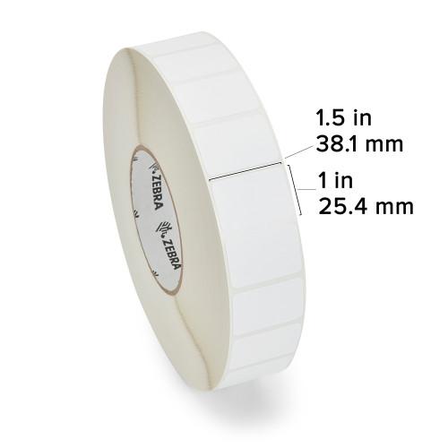 """Zebra 1.5"""" x 1"""" Z-Select 4000D Label (Case) - 88686"""