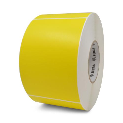 """Zebra 4"""" x 6"""" Z-Perform 2000T Label (Yellow) (Case) - 10006208-1"""