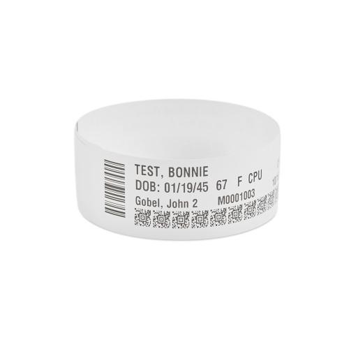 """Zebra 1.1875"""" x 11"""" Z-Band Direct Wristband (Case) - 10006996K"""