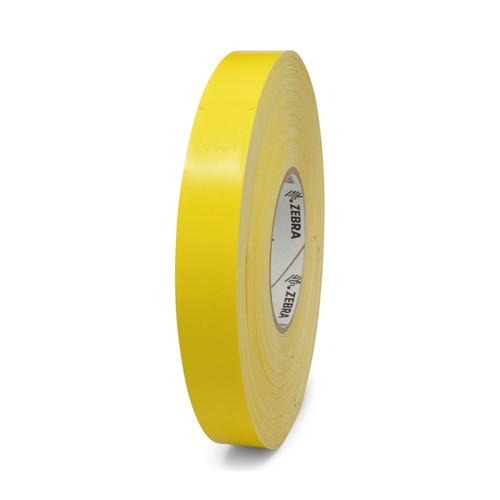 """Zebra 1"""" x 10"""" Z-Band Splash Wristband (Yellow) (Case) - 10012719-2"""