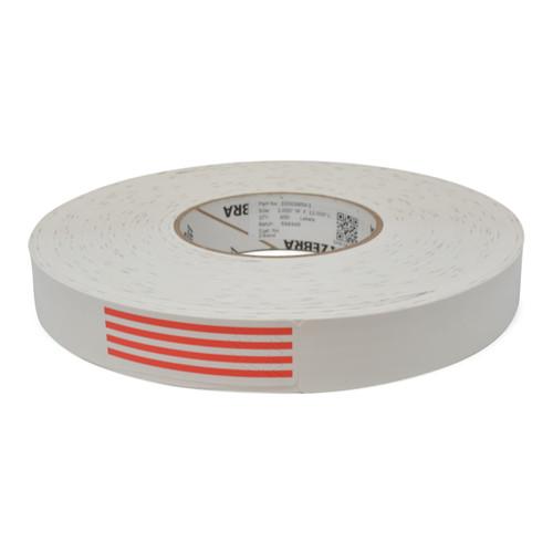 "Zebra 1"" x 11"" Z-Band Direct Wristband (Red) (Case) - 10003854-1"