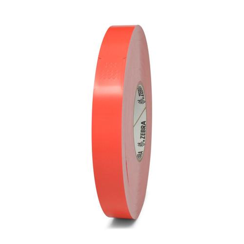 "Zebra 1"" x 10"" Z-Band Splash Wristband (Red) (Case) - 10012719-1"