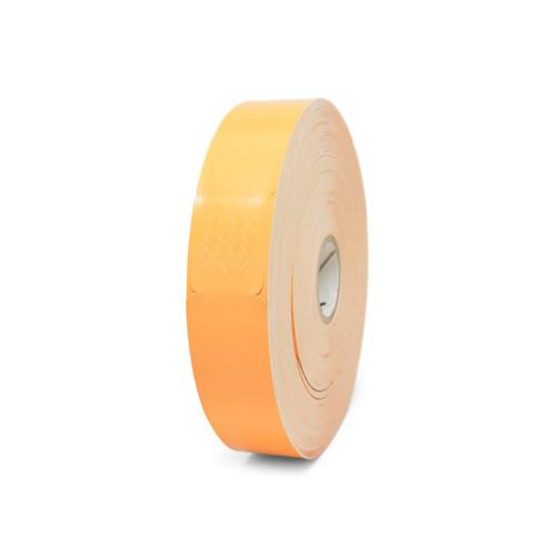 "Zebra 1"" x 10"" Z-Band Fun Wristband (Orange) (Case) - 10012712-6"