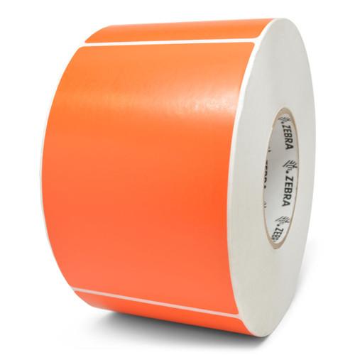 "Zebra 4"" x 6"" Z-Perform 2000T Label (Fluorescent Orange) (Case) - 10006208-7"