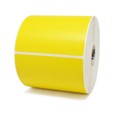 "Zebra 4"" x 6"" Z-Perform 2000D Label (Yellow) (Case) - 10010035"
