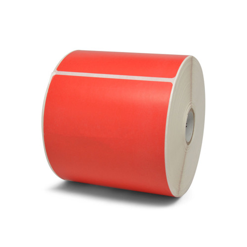 "Zebra 4"" x 6"" Z-Perform 2000D Label (Red) (Case) - 10010035-3"