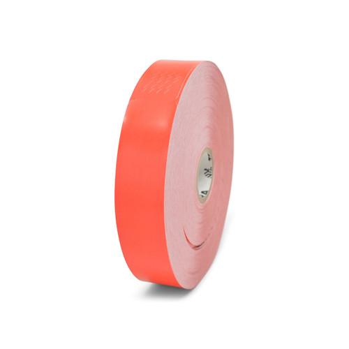 "Zebra 1"" x 10"" Z-Band Fun Wristband (Red) (Case) - 10012712-1"