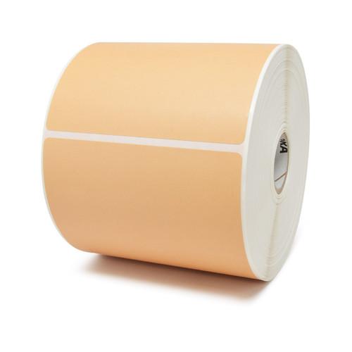"""Zebra 4"""" x 6"""" Z-Perform 2000D Label (Orange) (Case) - 10010035-2"""
