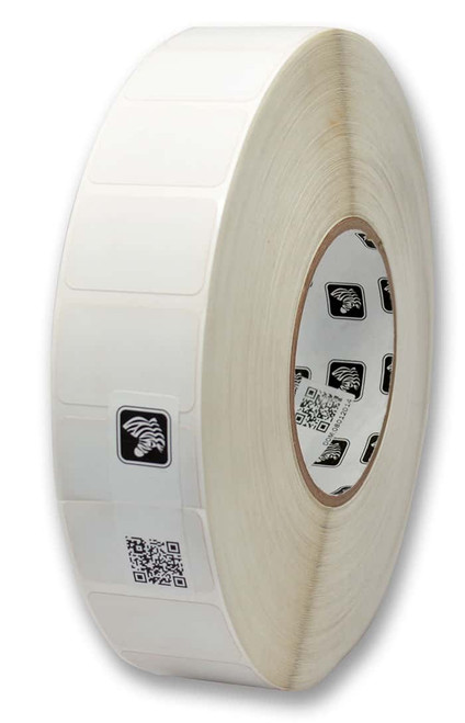 """Zebra 1.375"""" x 0.25"""" Z-Supreme 2000T Label (Case) - 10023207"""