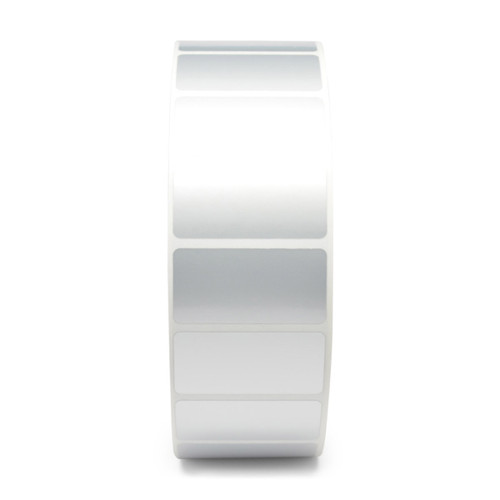 "Zebra 2"" x 0.5"" 8000T Void Matte Label (Silver) (Case) - 10022920"