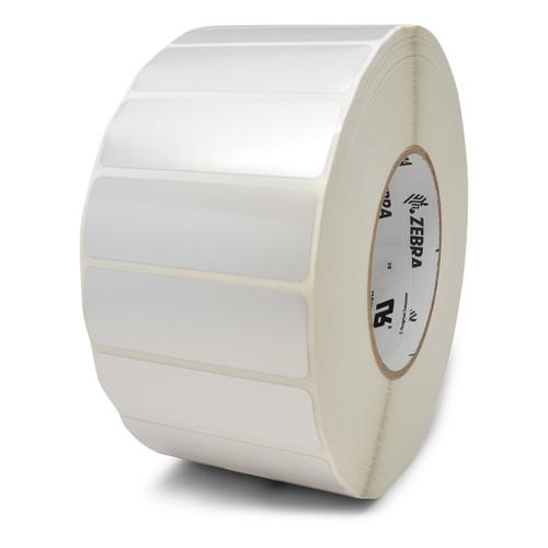 """Zebra 3"""" x 2"""" Z-Xtreme 4000T High-Tack Label (Silver) (Case) - 10023180"""