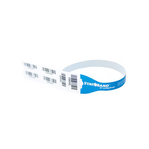 "Zebra 1.25"" x 17.5"" StatBand Rapid ID Wristband (Case) - SB-RAPID"