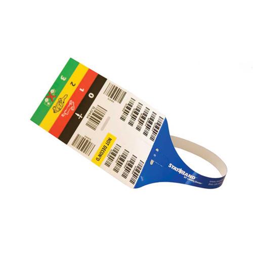 """Zebra 3"""" x 14.5"""" StatBand Triage Wristband (Case) - SB-TRIAGE"""